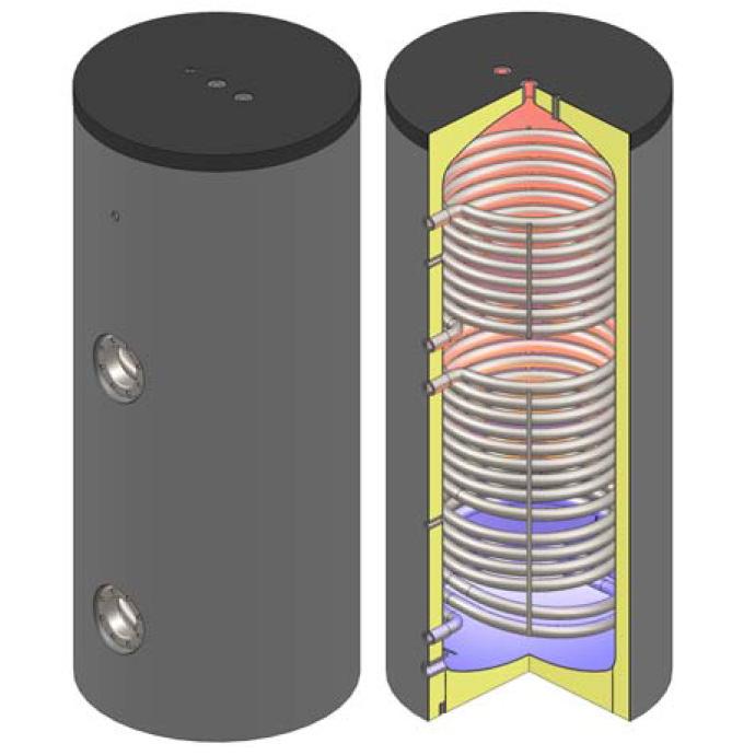 Warmwasserspeicher | Boiler | Ölheizung | Heizkessel | EiTherm